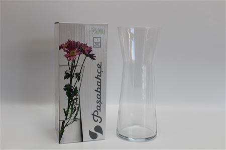 Glass X Vase In Giftbox H27cm Clear thumbnail