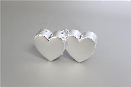 Balloon Weights Double Hearts thumbnail