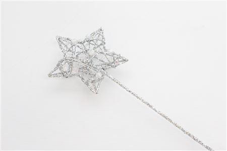 Bridal Wand Star L8 Ol30cm Silver thumbnail