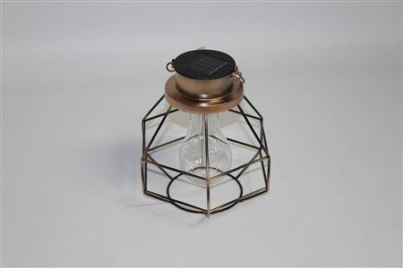 Lantern Metal Hexagonal Solar Light thumbnail