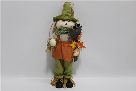 Fabric Scarecrow Mrs Hazel H60cm thumbnail