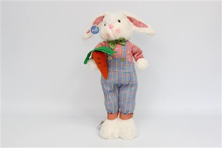 Fabric Plush Rabbit Morgan Standing H55cm thumbnail