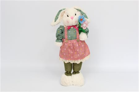 Fabric Plush Rabbit Erica Standing H55cm thumbnail