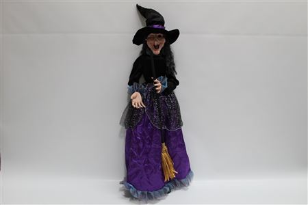 Fabric Halloween Fabric Witch Wicked Wendy H130cm thumbnail