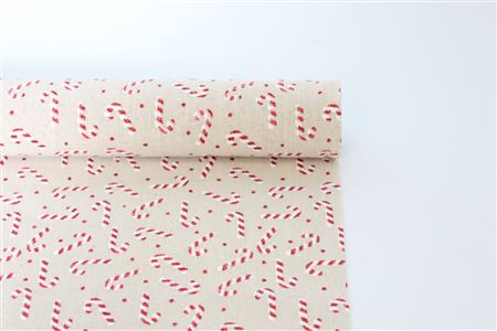 Fabric Candy Cane Roll D35 L200cm thumbnail