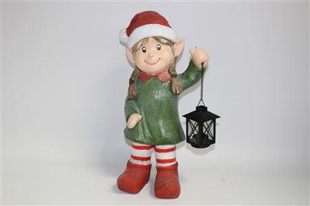 Magnesia Elf Alfredo Holding Lantern H50cm thumbnail