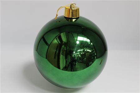 Deco Bauble D25cm Green thumbnail